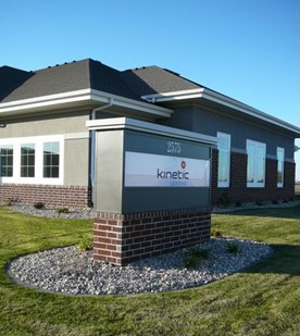 Kinetic office exterior